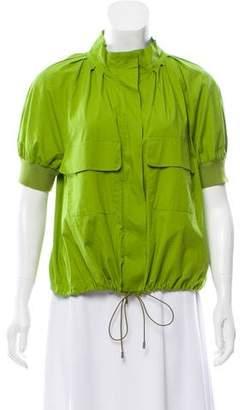 Philosophy di Alberta Ferretti Short Sleeve Casual Jacket