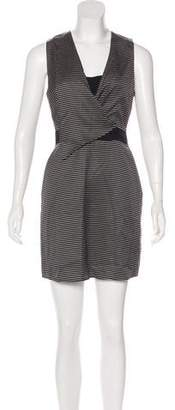 3.1 Phillip Lim Striped Sleeveless Mini Dress