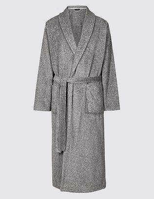 Marks and Spencer 2in Longer Supersoft Fleece Dressing Gown
