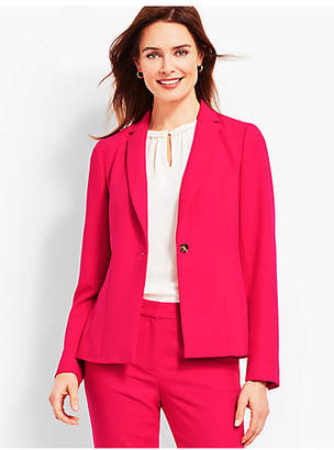 Talbots Italian Double-Cloth Blazer