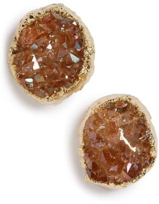Women's Panacea Drusy Stud Earrings $24 thestylecure.com