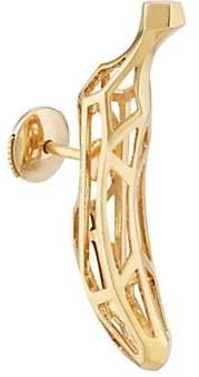 Natasha Zinko Women's Banana Stud Earring - Gold