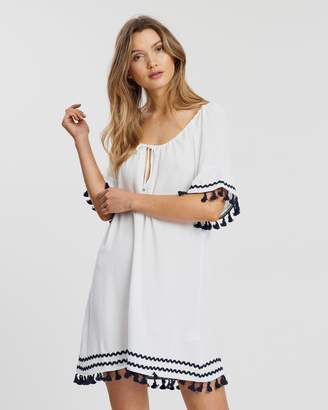 Atmos & Here ICONIC EXCLUSIVE - Riley Frill Tassel Dress