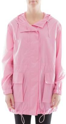 Theory Pink Nylon Raincoat