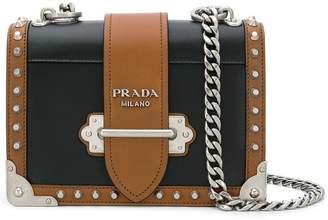 Prada Cahier City Calf shoulder bag