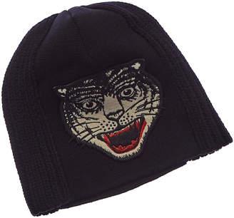 Gucci Tiger Knit Wool Hat
