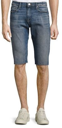 FRAME L'Homme Cutoff Jean Shorts, Shiloh $189 thestylecure.com