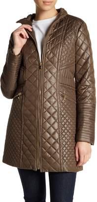 Via Spiga Diamond-Quilted Jacket