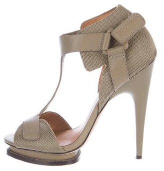 LAMB T-Strap Platform Sandals $75 thestylecure.com