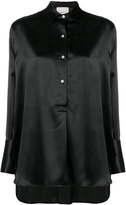Laneus high-low hem shirt