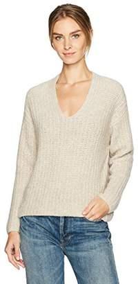 Vince Women's Deep V-Neck Pullover