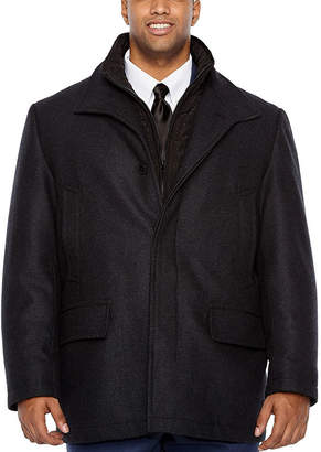 COLLECTION Collection by Michael Strahan Woven Topcoat-Big and Tall