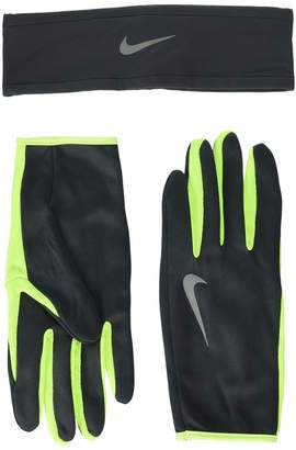 Nike Run Dry Headband and Gloves Set Athletic Sports Equipment