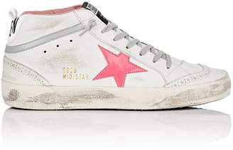 Golden Goose Women's Mid Star Leather Sneakers