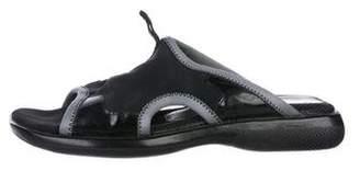 Prada Sport Neoprene Slide Sandals