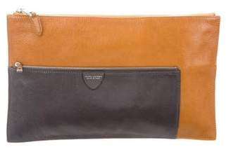 Marc Jacobs Leather Colorblock Clutch