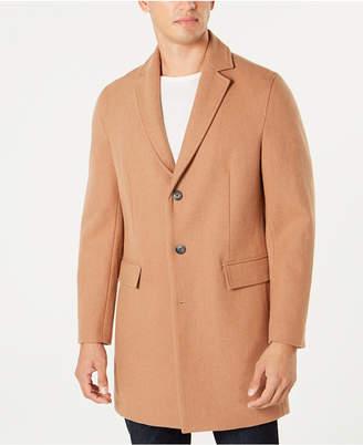 INC International Concepts I.n.c. Men's Dublin Camel Topcoat, Created for Macy's