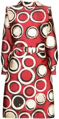 DAY Birger et Mikkelsen Julia Davidian circle print reversible shirt dress