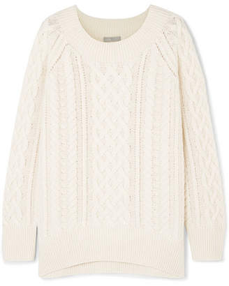 Vince Cable Knit Wool-blend Sweater
