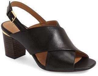 Women's Calvin Klein 'Cindya' Slingback Sandal $108.95 thestylecure.com