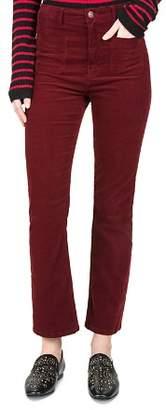 The Kooples Cropped Velvet Pants