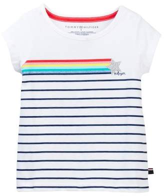 Tommy Hilfiger Stripe Tee (Toddler Girls)