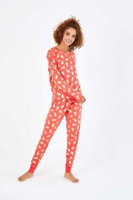 Next Womens Chelsea Peers Foil Pineapple PJ Set