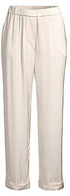 Peserico Women's Fluid Cuffed Pull-On Pants