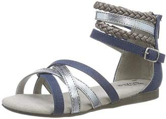 Bullboxer Girls' AED009F1S Heels Sandals Blue Size: