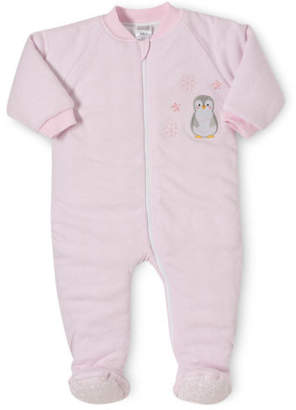 Snugtime NEW Padded Cotton Sleepsuita Pink