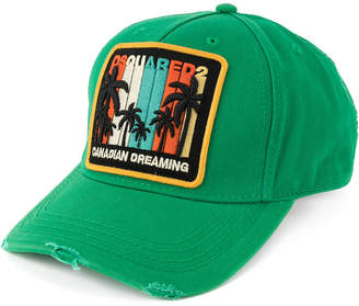 DSQUARED2 logo patch baseball cap