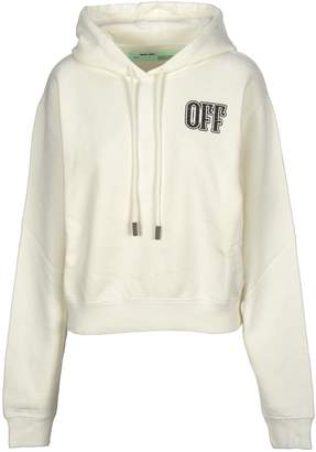 Off-White Off White Lips Cropped Hoodie