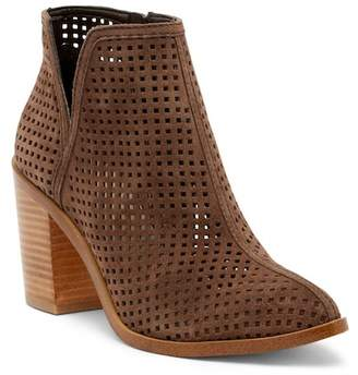 1 STATE 1.State Larocka Suede Perforated Bootie