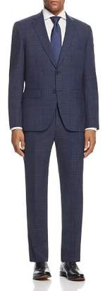 BOSS Johnstons/Lenon Regular Fit Plaid Suit