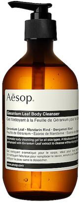 Aesop Geranium Leaf Body Cleanser.