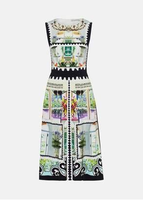 Mary Katrantzou Osmond Dress Stamp Interior
