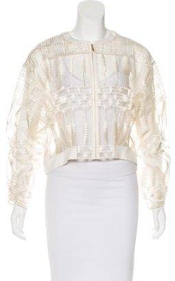 Sass & Bide Sheer Embroidered Jacket