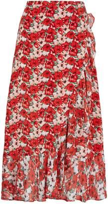 Rixo Gracie Floral Midi Skirt