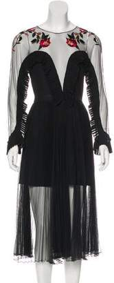 DELFI Collective Embellished Midi Dress w/ Tags