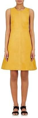 Lisa Perry WOMEN'S LUNAR SUEDE A-LINE DRESS
