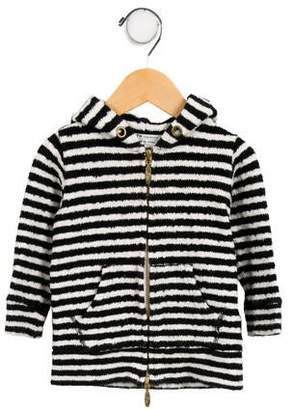Fith Boys' Striped Hooded Cardigan