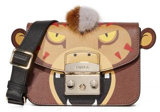 Furla Metropolis Jungle Mini Cross Body Bag $398 thestylecure.com