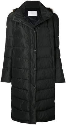 Fabiana Filippi fur hooded duffle coat