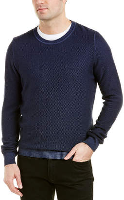 Stone Rose Crewneck Merino Wool Sweater
