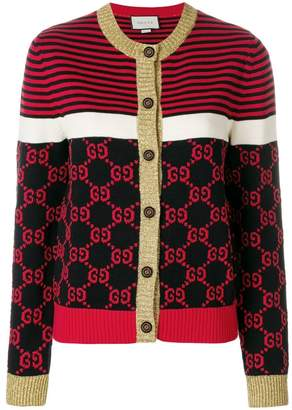 Gucci GG motif cardigan