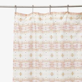 Co Abc Create Eskayel ABC Create Eskayel Shamsun Setting Sun Shower Curtain Terracotta