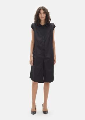 Lutz Huelle Cotton Sleeveless Shirtdress Black
