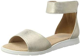 Bullboxer Girls' Agg007f1s Open Toe Sandals Gold Size: 32 (EU)