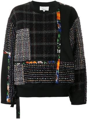 3.1 Phillip Lim patchwork jumper
