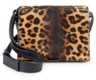 Victoria Beckham Leopard Leather Shoulder Bag